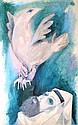Sami Briss b.1930 (Israeli, French) Kapparot oil on canvas