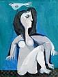 Sami Briss b.1930 (Israeli, French) Woman oil on canvas