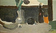 Shmuel Tepler 1918-1998 (Israeli) Still life, 1977 oil on canvasboard
