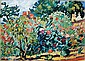 **Louis Valtat 1869-1952 (French) Le verger oil on canvas