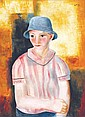 **Moise Kisling 1891-1953 (Polish) Portrait, 1928 oil on canvas