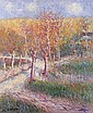 **Gustave Loiseau 1865-1935 (French) Paysage oil on canvas