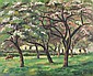 **Paul-Emile Pissarro 1884-1972 (French) Clos Normand au printemps, 1930 oil on canvas