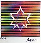Yaacov Agam b.1928 (Israeli) Star of David agamograph