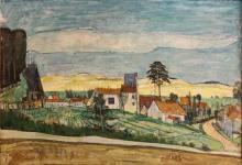 Joseph Pressmane 1904-1967 (French) Landscape, 1957 oil on canvas