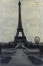 **Bernard Buffet 1928-1999 (French) La Tour Eiffel, 1955 oil on canvas