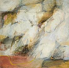 Ruth Levin 1918-2006 (Israeli) Abstract, 1977-79 mixed media on canvas