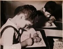 Boris Carmi 1914 - 2002 (Russian, Israeli) Children original photograph