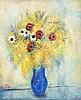 Reuven Rubin 1893-1974 (Israeli) Spring bouquet, 1965 oil on canvas