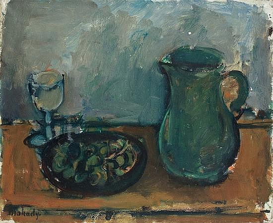 Moshe Mokady 1902-1975 (Israeli) Still life, c. 1929 oil on canvas