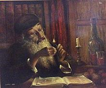 Yoram Lukov b.1940 (Israeli) Study oil on canvas