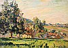 **Armand Guillaumin 1841-1927 (French) Paysage, Damiette Sur Oise, 1884 oil on canvas