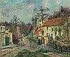 **Gustave Loiseau 1865-1935 (French) Paysage d'Hiver א Chaponval, 1908 oil on canvas