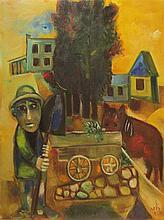 Leo Roth 1914-2002 (Israeli) In the kibbutz, 1964-67 oil on canvas