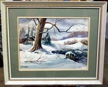 MARGARET WARD SNOWSCAPE