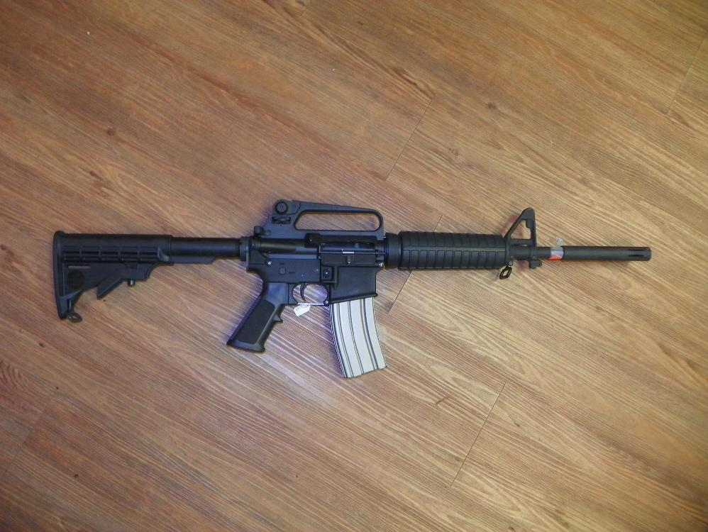 BUSHMASTER AR 15 223/5.56 - MODEL XM15 - E2S WITH 30 ROUND CLIP