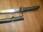 WWII SAMURAI SWORD MILITARY WITH SERIAL NUMBER