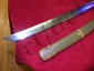 "WWII SAMURAI SWORD OVERALL 39"" LONG MAKERS MARK AS SHOWN IN PHOTOS"