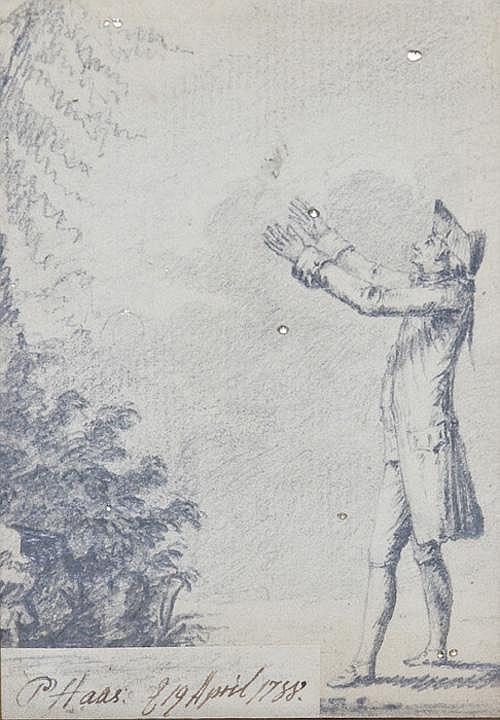 Peter Haas (zugeschrieben) 1754-1804 Stehender