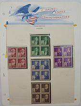Scott 889-893 (Famous Americans-Inventors) Blocks4