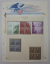 Scott 869-873 (Famous Americans- Educators) Block4