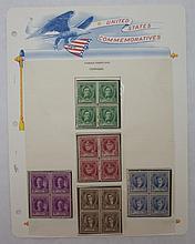 Scott 879-883 (Famous Americans-Composers) Blocks4