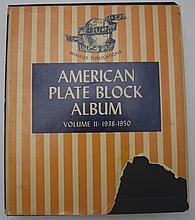American Plate Block Album (VOL II)