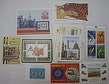 15 Souvenir Sheets, All Different