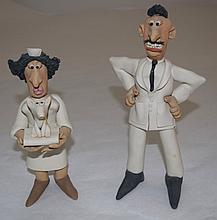 Aardman Studios Wallace & Gromet Vet, Nurse & Dog