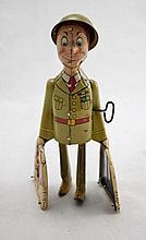 G.I. Joe & The K-9 Pups Tin Litho Wind-Up