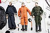 Lot Of 3 Hasbro G.I. Joe Dolls w/ Spare Clothes
