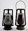 2 19th Century Dietz Railroad Lanterns