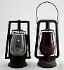 2 19th Century Dietz Railroad Lanterns