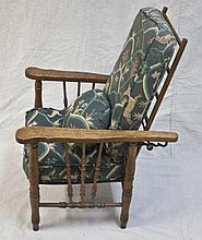 19thC Oak  Arts & Crafts Child's Morris Chair