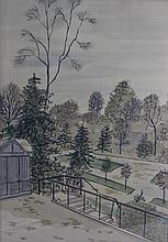1966 Dennis Paul Noyer Landscape Watercolor