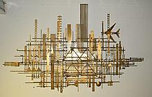 William Bowie New York Cityscape Metal Wall Art