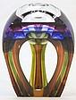 Buxton-Kutcher Signed Art Glass Vase