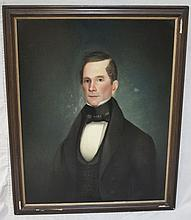19thC Oil Painting of a Gentleman From Ward Family