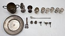 Sterling Silver Shots, Perfume Funnels & Hollowwar