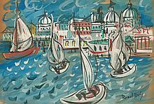 009-RAOUL DUFY (French, 1877-1953) (Attrib.)