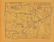 STUART DAVIS (American, 1892-1964)