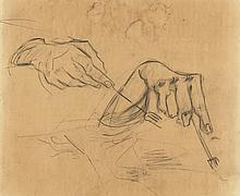 VINCENT VAN GOGH (Dutch, 1853-1890) (Attrib.)