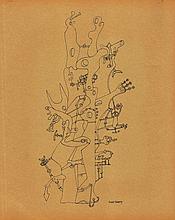 YVES TANGUY (French, 1900-1955) (Attrib.)