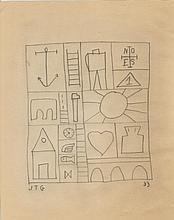 JOAQUIN TORRES GARCIA (Uruguayan, 1874-1949) (Attrib.)