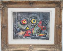 Joan MIRO ATTRIBUTED PAINTING