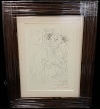 PICASSO Hand Signed Lithograph Vollard Suite