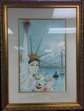 CHARLES LEVIER LITHO SIGNED