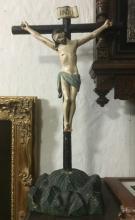 VINTAGE WOOD CROSS JESUS CHRIST