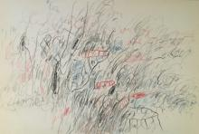 CY TWOMBLY   AMERICAN PAINTER