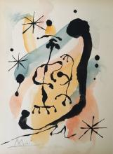 JOAN MIRO   SPANISH PAINTER
